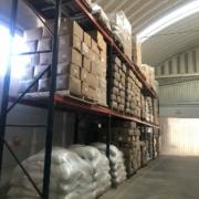 Almacén con nuestros Productos Empacados